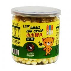 小棕熊 小小馒头 原味 100g