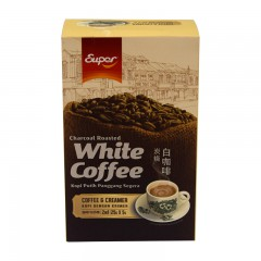 超级牌炭烧白咖啡(固体饮料)125g