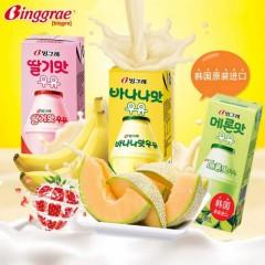 宾格瑞香蕉牛奶200ml*24
