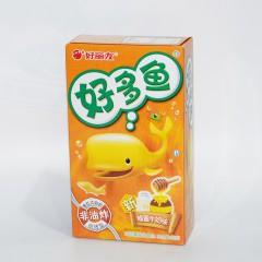 好丽友 好多鱼 蜂蜜牛奶味 非油炸 33g