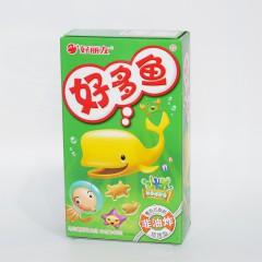 好丽友 好多鱼 鲜香海苔味 非油炸 33g