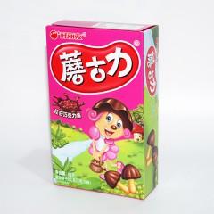 好丽友 蘑菇力 红豆巧克力味 48g