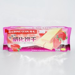 康元 威化饼干 草莓味 115g