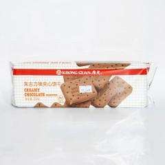 康元 朱古力味夹心饼干 200g