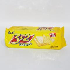 康师傅 3+2苏打夹心饼干 香浓奶油味 125g