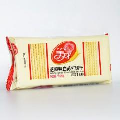 美丹 芝麻味白苏打饼干