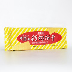 青食 特制钙奶饼干