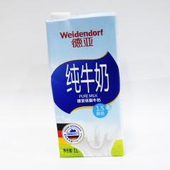 德亚纯牛奶 德亚低脂牛奶 1.5脂肪 1L