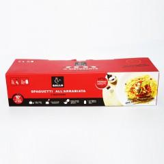 公鸡乐享装(直条形意面+番茄和红辣椒风味酱)