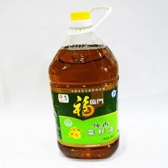 福临门 纯香菜籽油5L