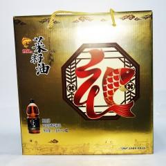 鲤鱼 菜籽油 正宗原香 3.6L