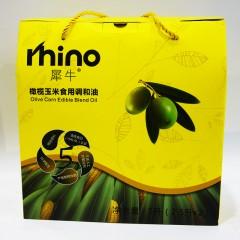 犀牛 橄榄玉米食用调和油5L