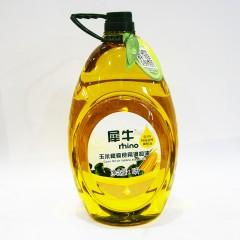 犀牛 玉米橄榄食用调和油5L