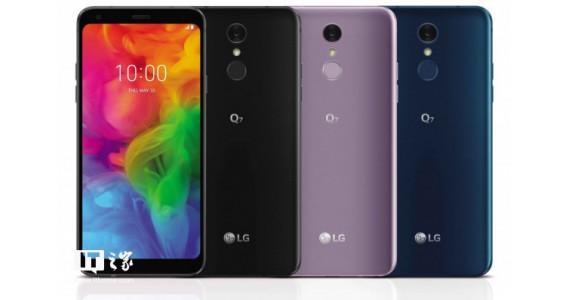 LG正式发布Q7系列智能手机:入门配置,高端功能