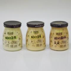 味品堂 酸奶菠萝、酸奶杂果、酸奶黄桃200g