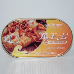 人高一等 鱼王一号 油炸 虫草花海䲞鲷鱼165g