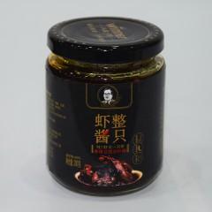 人高一等 整只虾酱 麻辣豆豉对虾酱200g