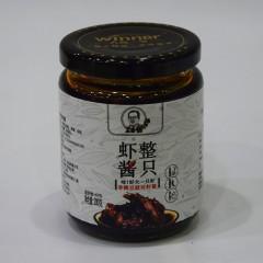 人高一等 整只虾酱 香辣豆豉对虾酱200g