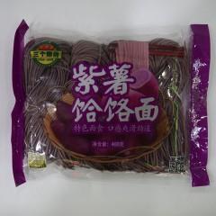 三个樱桃 紫薯饸络面 半干面400g