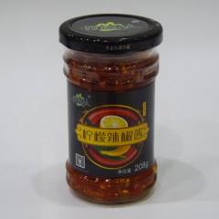 黄袍农夫 柠檬辣椒酱 208g