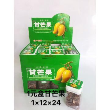 1元盒甘芒果