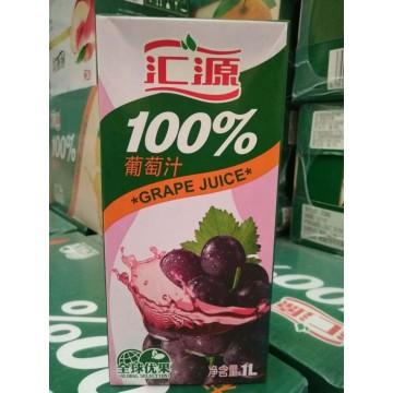 汇源1L100%葡萄汁