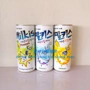 牛奶碳酸听装三种口味250ml*30
