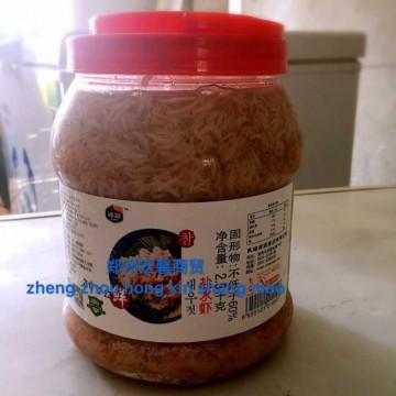 浦源盐水虾腌制韩式泡菜辣白菜调料海鲜虾酱餐饮用2.5kg*6