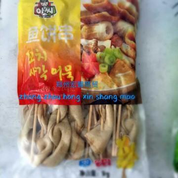 韩国甜不辣韩式火锅炒年糕鱼饼关东煮食材海鲜鱼饼串1kg*8