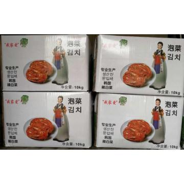 韩式泡菜 辣白菜韩国正宗朝鲜泡菜咸菜下饭菜酱腌制10kg整箱