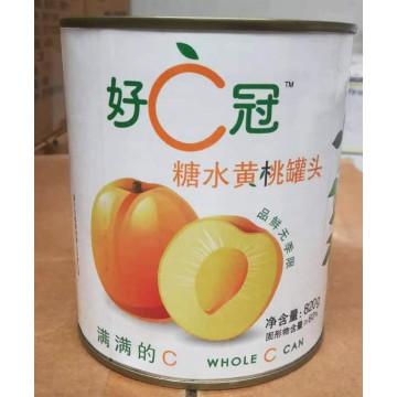 好C冠黄桃罐头