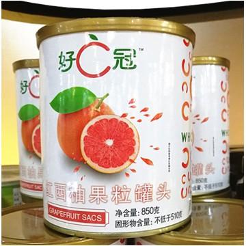 好C冠红西柚罐头