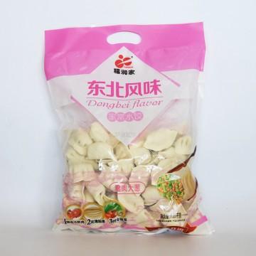 福润家 东北风味 家常水饺 猪肉大葱1.28kg