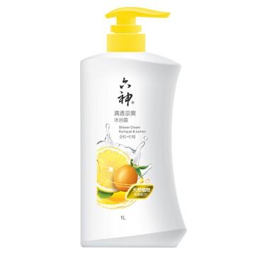 1kgg六神沐浴露(清透凉爽)金桔+柠檬