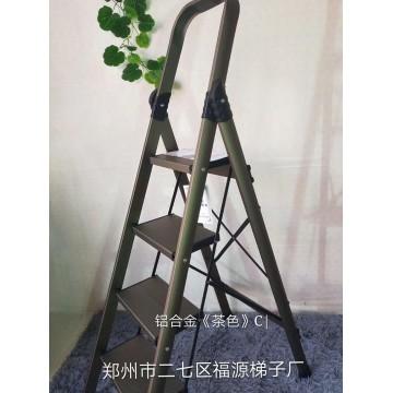 铝合金《茶色》C折叠梯
