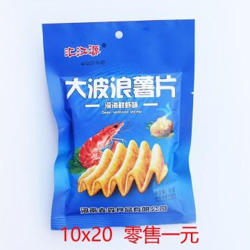 汇江源 大波浪薯片 深海鲜虾味 45g