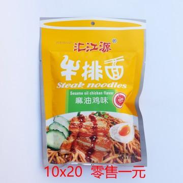 汇江源 牛排面 麻油鸡味 45g