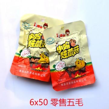 小鸡炖蘑菇35克