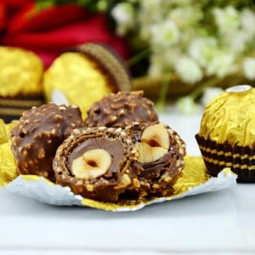 进口费列罗榛果巧克力零食礼盒T48粒婚庆情人节送女友礼品