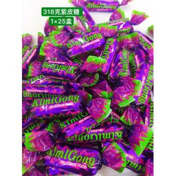 128g紫皮糖