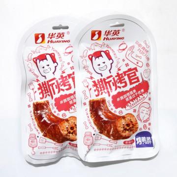 华英-撕烤官-烤鸭脖-香辣味--48g