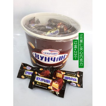 1元果仁夹心巧克力