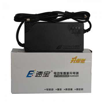 E速宝 电动车智能充电器 48V 12A 圆孔