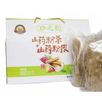 山药粉条0.3kg·4袋+山药粉皮0.4kg·2袋