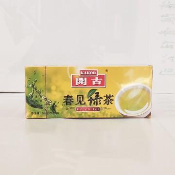 开古  绿茶  50g   25包