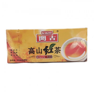 开古  高山红茶50g  25茶包