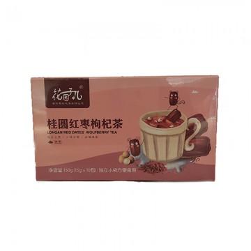 花因子儿  桂圆红枣枸杞茶150g  15gX10包