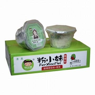 粉小妹 酸辣粉 酸辣绿豆粉+银耳 129g