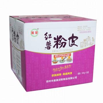 双景 红薯粉皮 500g 10袋/箱