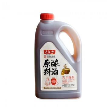 老恒和五年陈原酿料酒1.28L